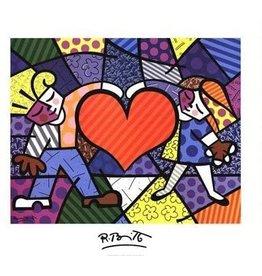 Britto Heart Kids by Romero Britto (Signed Poster)