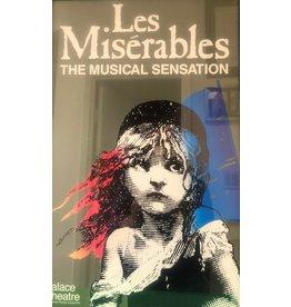 Poster Les Miserables Original Palace Theatre UK 1987 Poster