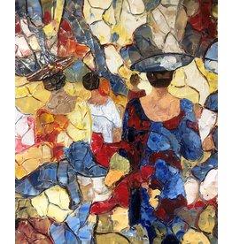 Riverin Femmes et jeu de Lumiere by Richard Riverin (Original)