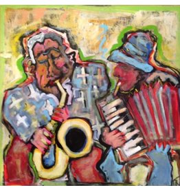 Russell Street Musicians Oslo by Tom Russell (Original)