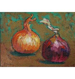 Lasker Two Onions by Joe Lasker (Original)
