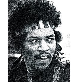 Knight Hendrix Head by Robert Knight