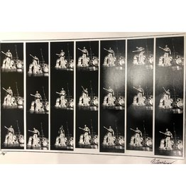 Knight Hendrix Contact Sheet by Robert Knight