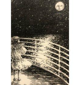 Isadora A Face In The Moon by Rachel Isadora (Original)