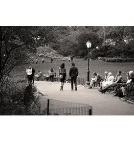 Migicovsky A Couple Alone in Central Park by John Migicovsky