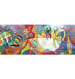Leventhal Sparkling Mural by Ian Leventhal (Original)