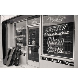Migicovsky Vintage Guitar Shop, Sunset Blvd by John Migicovsky