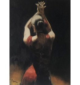 Perez Flamenco Dancer (Red) by Fabian Perez
