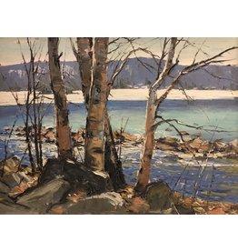 McCheyne Early Spring Eagle Lake by Murray McCheyne Stewart (Original)