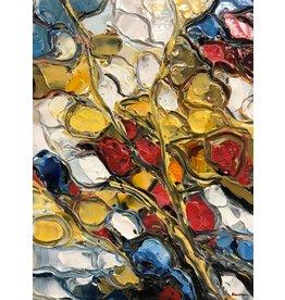 Riverin Flowers by Richard Riverin (Original)