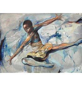 Isadora Ailey Leap by Rachel Isadora (Original)