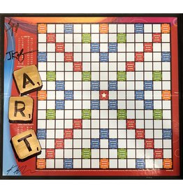 "Keifer Scrabble ""Art"" Board by Jim and Kathleen Keifer (Original)"
