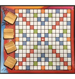 "Keifer Scrabble ""Blanks"" Board by Jim and Kathleen Keifer (Original)"