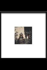 Ando Owl In The Velvet Woods by Mariko Ando