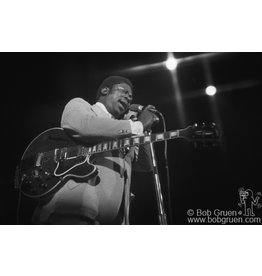 Gruen B.B. King, NYC, 1973 by Bob Gruen