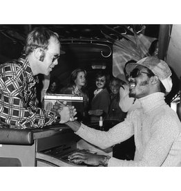 Gruen Elton John & Stevie Wonder, 1975 by Bob Gruen