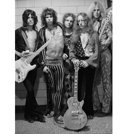 Gruen Aerosmith Group Shot, Boston, 1973 by Bob Gruen