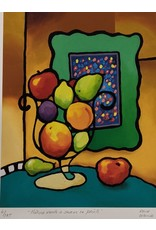 Lalonde Nature Morte a Saveur de Fruits by Rene Lalonde