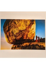 Magnum The Golden Rock Beneath Kyaiktiyo Pagoda, Kyaiktiyo, Myanmar, 1994 by Steve McCurry
