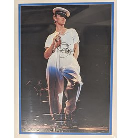 Unknown David Bowie Autographed Photograph by Unknown Artist