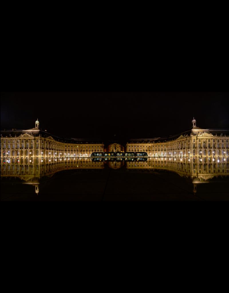 Greatrix Reflecting on Bordeaux by Robert Greatrix