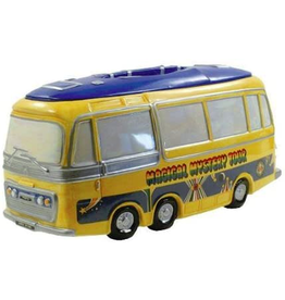 Willingham Beatles Magical Mystery Tour Bus Cookie Jar by Preston Willingham