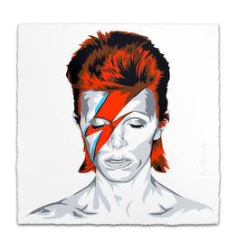 Brainwash Bowie, 2016 by Mr. Brainwash