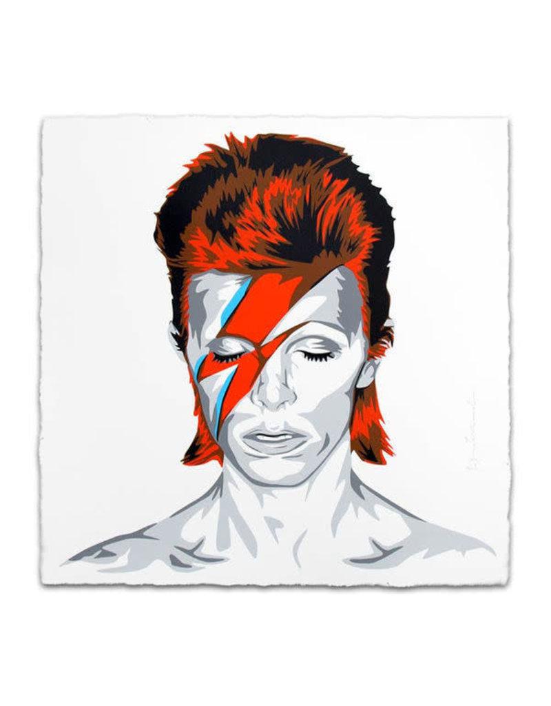 Brainwash Bowie, 2016 by Mr. Brainwash