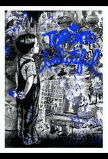 Brainwash Toronto is Beautiful (Blue) by Mr. Brainwash