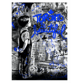 Brainwash Toronto is Beautiful (Blue) by Mr. Brainwash