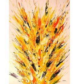 Carson Eclosion Florale 202 by Charles Carson (Original)