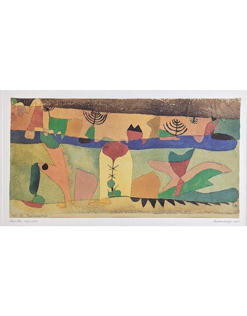 Klee Parklandschaft 1920-85 by Paul Klee
