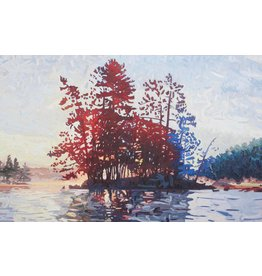 Grieve Found Myself On A Lake 1 by David Grieve (Original)
