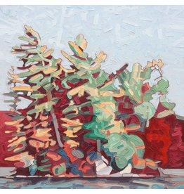 Grieve Gull Rock Island 2 by David Grieve (Original)
