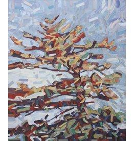 Grieve Reaching Pine by David Grieve (Original)