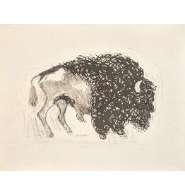 Lasker Buffalo by Joe Lasker (Original)
