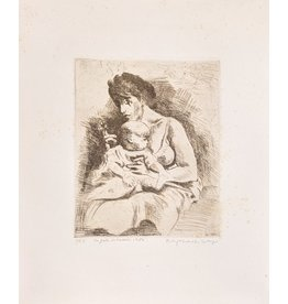 Soyer Mother and Child by Raphael Soyer