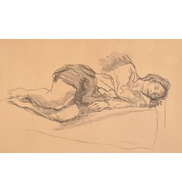Soyer Daydream by Moses Soyer (Original)