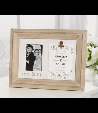 MR AND MRS INVITATION FRAME