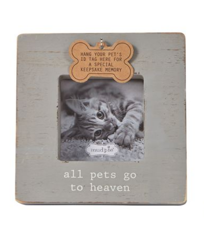 Gray Deceased Pet Frame
