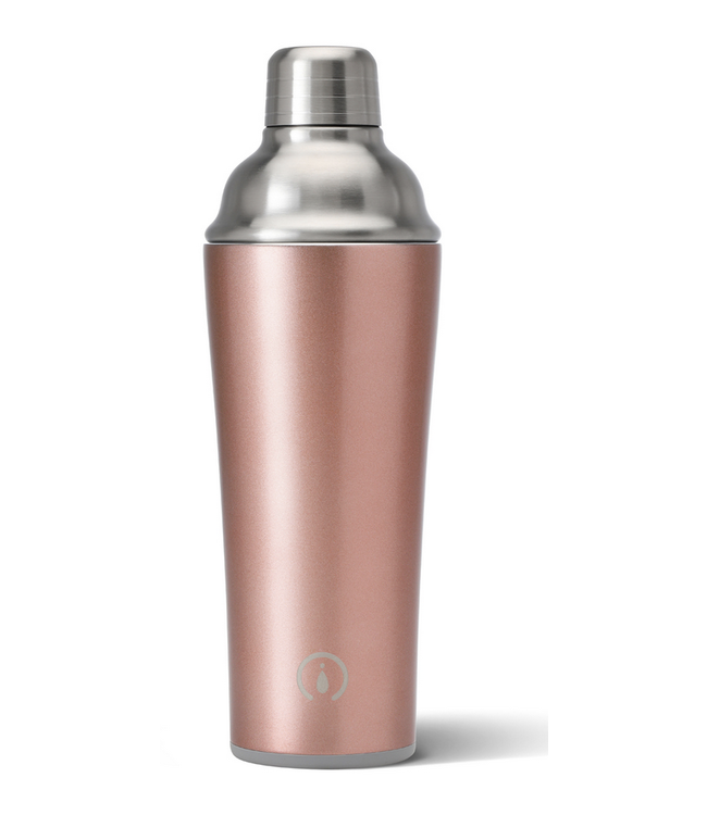 Swig Swig 22oz Cocktail Shaker Bar Rose Gold