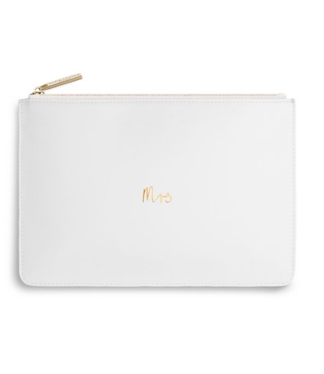 PERFECT POUCH - MRS - chalky white - 16x24cm