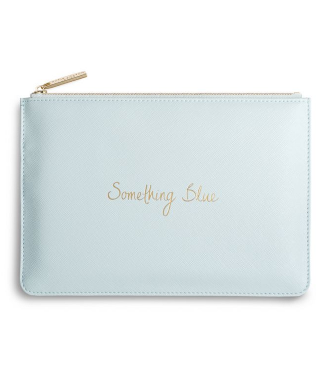 PERFECT POUCH - SOMETHING BLUE - pale blue - 16x24cm