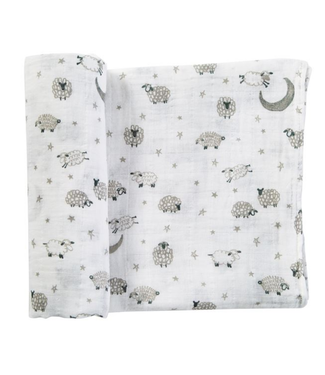 Mud Pie COUNTING SHEEP SWADDLE