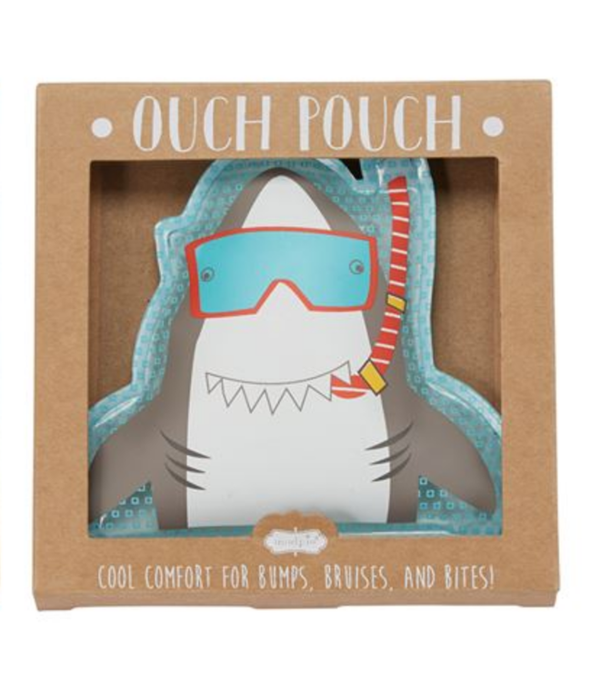 Mud Pie OUCH POUCH SHARK