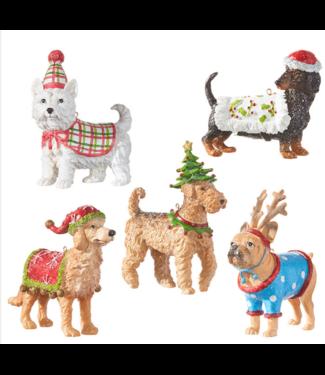 "5"" Dog Ornament"