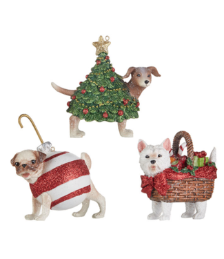 "3.75"" Dog Ornament"