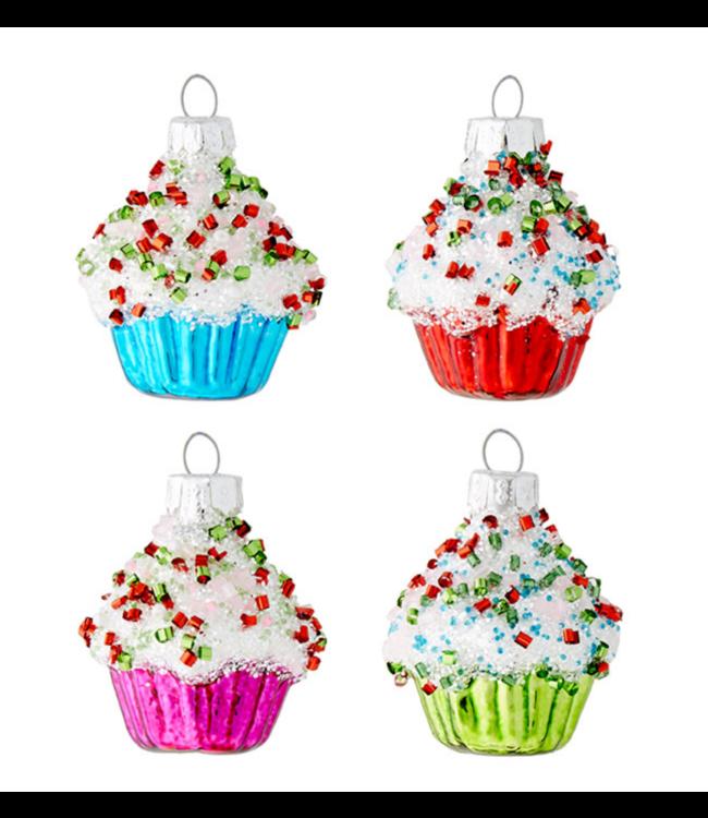 "1.75"" Cupcake Ornament"