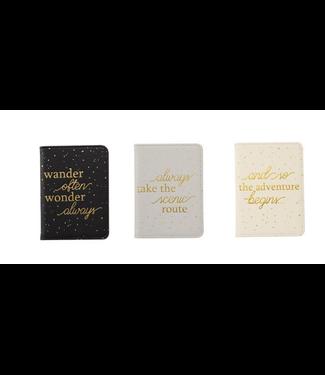 Mud Pie Speckled Passport Holder