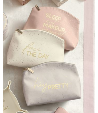 Mud Pie Makeup Bag